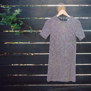 Short Stripped Mini Dress